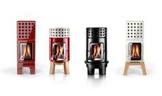 陶器製のストーブ スタック 色々なタイプ