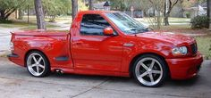 Ford lightning -- Lifted > Everything; but every once in a while a race truck is fun to ogle over if it's not over done & removed of basic functionality