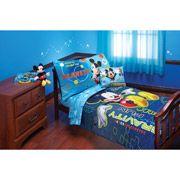 Disney Mickey Zero Gravity Toddler Bedding 4-Piece Set, $78.99
