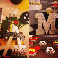 Miguel's 2nd Bday - Mickey Mouse Sweets table detail