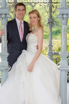 bride and groom in Ladies' Pavilion, Central Park (my personal fave)