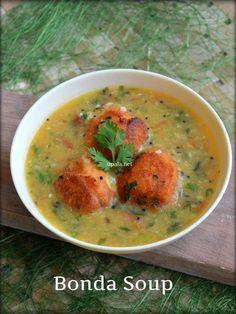 Karnataka special Bonda Soup http://www.upala.net/2017/01/karnataka-special-bonda-soup-restaurant.html