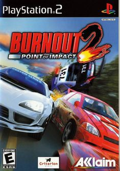 Burnout 2 Point of Impact Sony Playstation 2 Game Battlefield 2, Bakugan Battle Brawlers, Gamecube Games, Xbox Games, Playstation 2, Cover Art, Nintendo, The Furious, Games Box