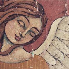#angel #art ©Teresa Kogut  May peace be with you all your days.