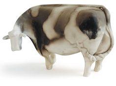 cow sculpture -Delyth Jones