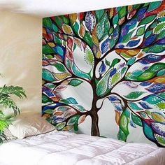 Painting fabric tapestry 67 New ideas Color Palette Living Room, Room Painting Bedroom, Home Decor Paintings, Tapestry, Wall Painting, Bohemian Tapestry, Tapestry Decoration, Canvas Painting Diy, Painting Walls Tips