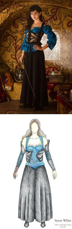 Snow White from 'Mirror Mirror' - Costumes by Eiko Ishioka