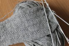 Sehr schönes schlichtes Muster Mama in Vollzeit: Socken Nr.2