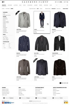 Clothing E-commerce Website on Web Design Served