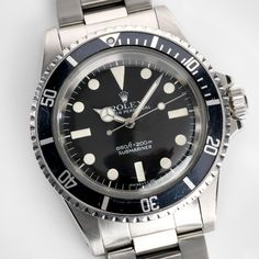 Rolex Submariner Mk 1 Maxi Dial 5513 Rolex 5513, Rolex Submariner, Luxury Watches, Rolex Watches, Vintage Rolex, Mk1, Color Shades, Cool Watches, Gold Watch