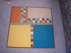 Pieced quilt back Backing A Quilt, Quilt Border, Quilt Blocks, Quilting Tutorials, Quilting Projects, Quilting Designs, Quilting Tips, Scrappy Quilts, Easy Quilts
