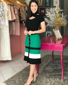 plus size outfits for work womens clothes Casual Summer Outfits, Classy Outfits, Trendy Outfits, Cute Church Outfits, Dress Skirt, Bodycon Dress, Skirt Outfits, African Dress, Plus Size Outfits
