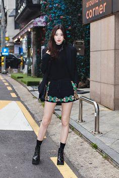 Street Style Shin Nahyung, Seoul