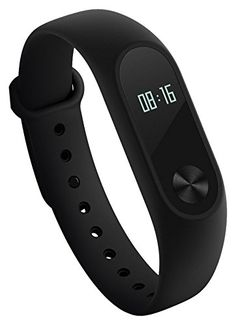 Xiaomi Mi Band 2 Miband with OLED Display Wristband Bracelet Smart Heart Rate Fitness Activity Tracker 20 Days Standby Time Black *** Click on the affiliate link Amazon.com on image for additional details.