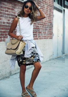 Sincerely jules style sequin skirt