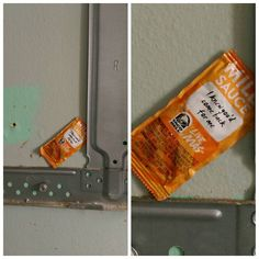 Remodeling the kitchen and pulled the microwave off the wall. He never gave up hope. http://ift.tt/2lAcTRh #lol #funny #rofl #memes #lmao #hilarious #cute