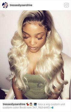 [ p i n t e r e s t ] : wavykiara Dope Hairstyles, Weave Hairstyles, Blonde Hairstyles, Hair Inspo, Hair Inspiration, Curly Hair Styles, Natural Hair Styles, Birthday Hair, Hair Heaven