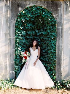 ethereal Atlanta wedding inspiration - photo by Unique2Chic Photography http://ruffledblog.com/ethereal-atlanta-wedding-inspiration