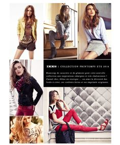 Nouvelle Collection IKKS WOMEN  été 2014  http://www.apresmidishopping.com/2,ikks-women.html