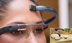 A groundbreaking new app for Google Glass allows users to take photos just by thinking about them. MindRDR claims to be the world's first telekinetic app for the hi-tech specs that lets a wearer use brainwaves to take photos of what they can see, simply by concentrating really hard on the image.
