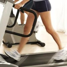 Treadmill Workout: Burn more fat and slim legs by setting the incline to 15 degrees, which is commonly the highest incline on most treadmill models. In addition, set the treadmill to a slow pace of 2 to 3 miles per hour. By walking up a high incline at a slow pace, you prolong your muscular contractions, thus burning more fat.