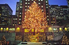 Prometheus aka Tammuz, aka Lucifer (fallen angels and their offspring) in the Rockefeller Center on December 25 (Christmas), his birthday - the winter solstice