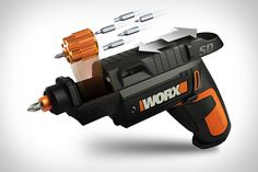Worx Semi-Automatic Screw Driver. Now this is a 'gun' I could see having.