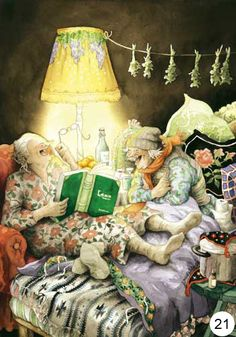 In a small village in Finland lives the world-famous artist-illustrator Inge Löök. Inge Look - pseudonym of the artist, real name Ingeborg Lievonen. Art Magique, Old Folks, Old Women, Old Ladies, Ladies Night, Getting Old, Illustrators, Book Art, Illustration Art