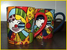 Pequenas Pinceladas!: Pop-Art (Romero Britto)