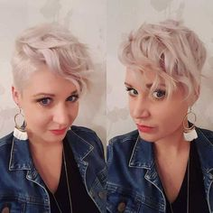 43 Best Cutest Short Pixie Haircut Inspirational Designs For Woman May Love - Page 10 of 43 - Marble Kim Design Short Pixie Haircuts, Pixie Hairstyles, Trendy Hairstyles, Cute Shorts, Pixie Cut, Hair Trends, Color Inspiration, Hair And Nails, Blonde Hair