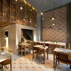 Aydınlatma ve Dekor Dünyasından Gelişmeler: K-studio'dan Atina'da Capanna Restaurant Aydınlatma #aydinlatma #lighting #design #tasarim #dekor #decor