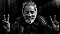 "Saatchi Art Artist Laurent Lav Lazzeresky; Photography, ""God inside Homeless V"" #art"