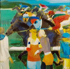 Indulis Zarins (1929-1997) - Hippodrome, 1991