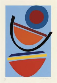 Buy- Swing Blue- signed limited edition abstract silkscreen print by the late Sir Terry Frost RA from CCA Galleries online. Abstract Shapes, Abstract Art, Graffiti, Bright Art, Silk Screen Printing, Art Plastique, Illustrations, Art Pictures, Collage Art