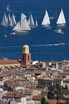 Saint-Tropez, Provence-Alpes-Côte d'Azur also known as the French Riviera Saint Tropez, Places To Travel, Places To See, Places Around The World, Around The Worlds, Wonderful Places, Beautiful Places, St Tropez France, Ville France