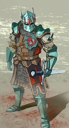ArtStation - For honor Fanart, Jonas Spokas Fantasy Character Design, Character Creation, Character Concept, Character Art, Armadura Medieval, Fantasy Armor, Medieval Fantasy, Fantasy Art Warrior, Dnd Characters