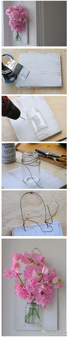 Ooooh I love this! I'm thinking smaller mason Jar and a picture of my girls to look like they are holding it. This is going to happen :)
