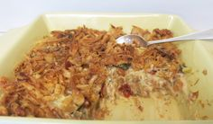 This casserole is crunchy and creamy, and features Margaret Holmes Seasoned Cabbage and Diced Rutabagas with French's Fried Onions. Eating Raw Vegetables, Veggies, Casserole Dishes, Casserole Recipes, Vegetable Recipes, Vegetarian Recipes, Rutabaga Recipes, French Fried Onions, Vegetable Sides