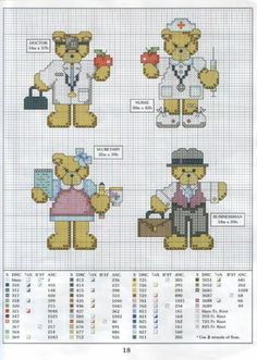 osos trabajadores