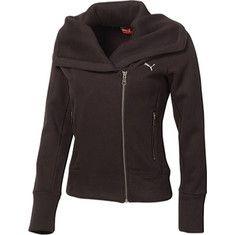 PUMA Lifestyle Zip Fleece Jacket - Free Shipping & Return Shipping - Shoebuy.com
