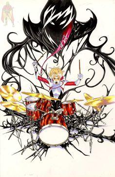 Spider Gwen Venom, Spider Gwen Cosplay, Comic Books Art, Comic Art, Venom Girl, Gwen Stacy, Marvel Comics Art, Spiderman Art, Marvel Wallpaper