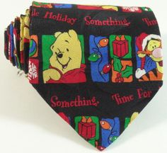 ADORABLE Winnie the Pooh celebrating Christmas | Disney Necktie