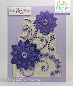 Ingenious Inkling Stephanie Severin Eyelet Outlet Paper Flowers, Gems & Flourishes