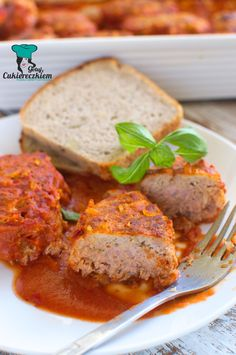Gołąbki bez zawijania Meatloaf, Food And Drink, Menu, Dinner, Cooking, Diet, Eat Lunch, Meat, Easy Meals
