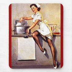Pin Up Girl Vintage, Vintage Nurse, Retro Pin Up, Vintage Witch, Retro Vintage, Vintage Style, Ww1 Posters, Pin Up Posters, Girl Posters