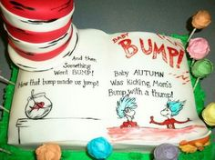 Dr Suess Cat in the Hat Cake