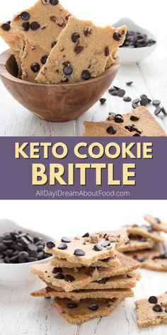 Love the crispy parts of the cookie the best? Well you're in luck with this easy and delicious keto cookie brittle. All crispy edges, no sugar, no grains!