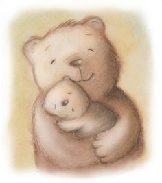 Mama Bear and Baby Bear by Alicia Padron