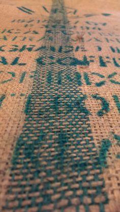 Sumatra Coffee Bag. The Green line is their trademark.