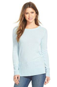 f0dada89b2 Halogen® Crewneck Lightweight Cashmere Sweater (Regular  amp  Petite)  available at  Nordstrom